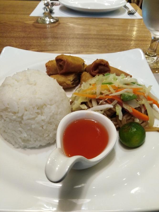 Canton and Shanghai meal by Kuya J