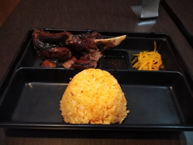 Grilled Liempo by Reyes BBQ