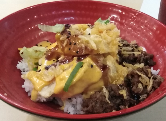 Cheesy Beef Donburi by Tokyo Tokyo