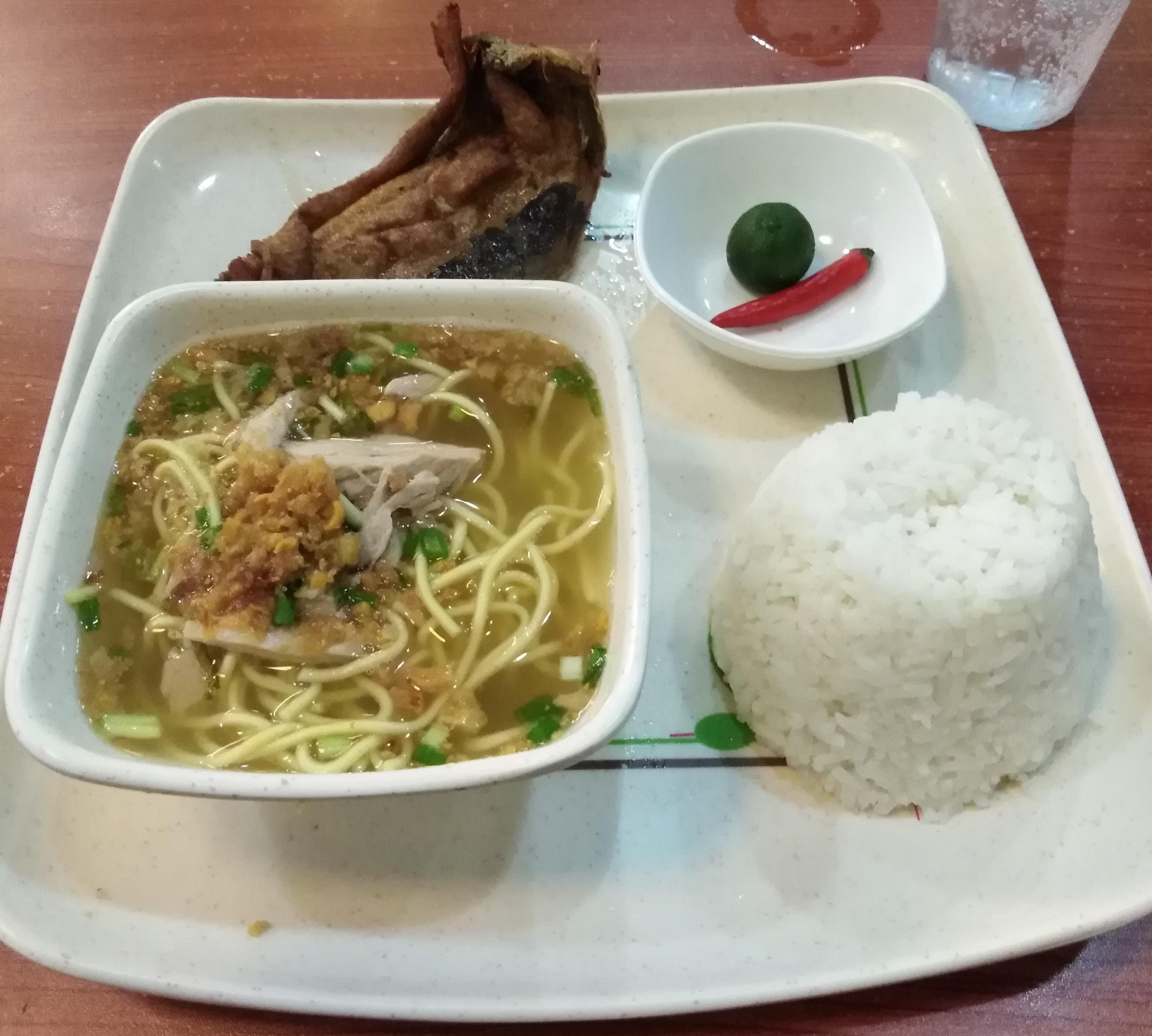 Bangus Namit Meal by Ted's Oldtimer La Paz Batchoy