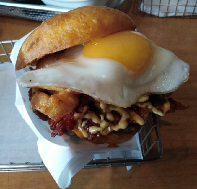 The Hangover by Burger Geek