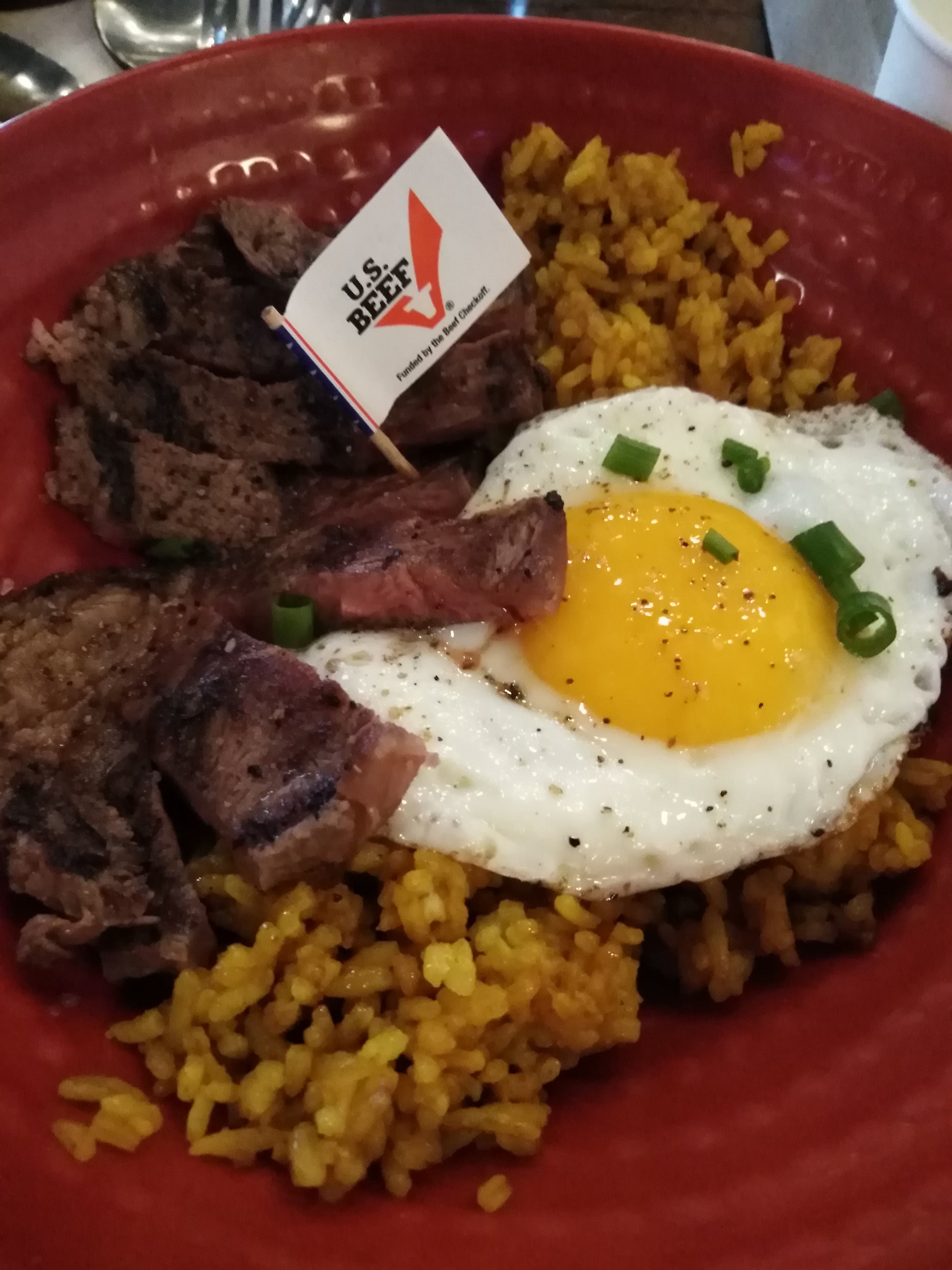 Steak Rice