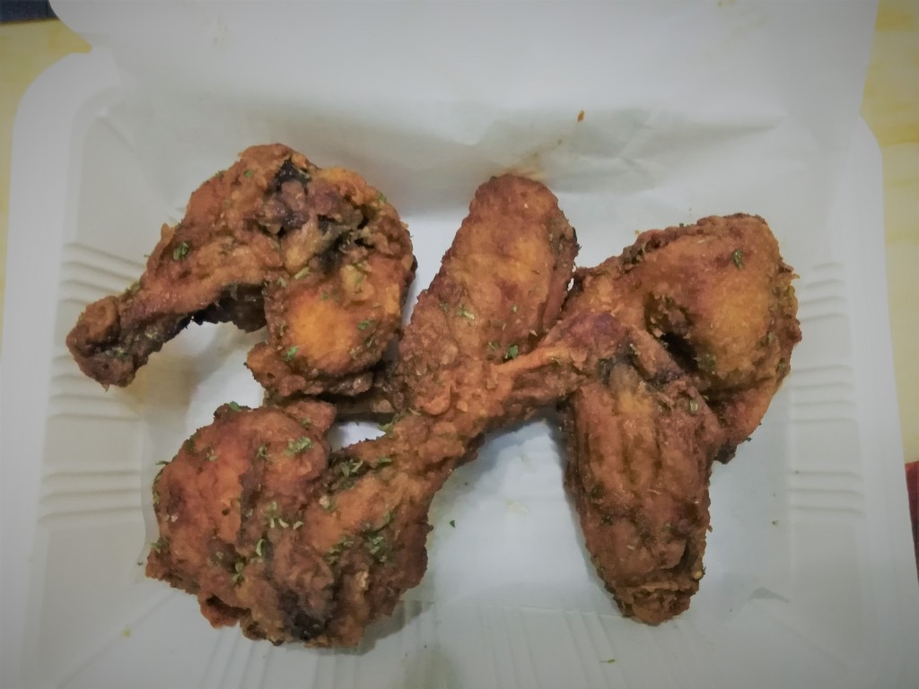 Famous Wings by Bake and Fry by Donna