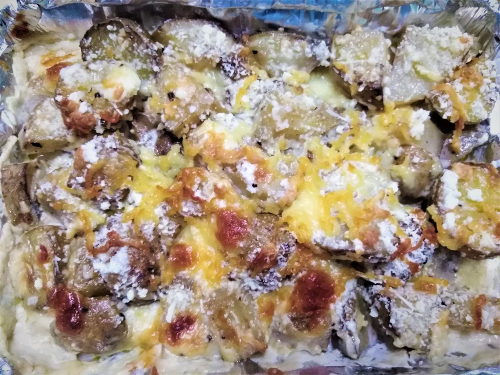 Baked Potato Salad by Bake and Fry by Donna