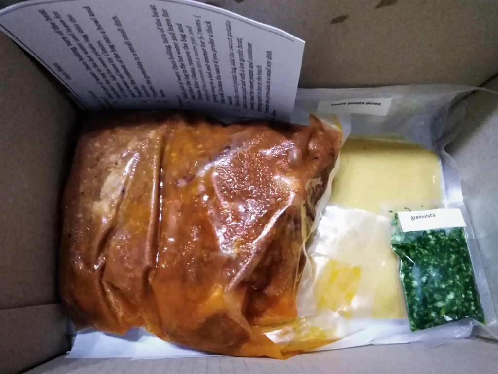 Sous Vide packaging by The Fatted Calf
